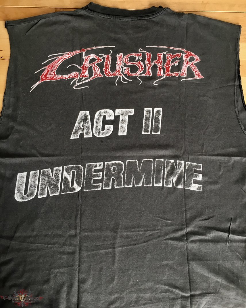 Crusher - Act II Undermine Sleeveless