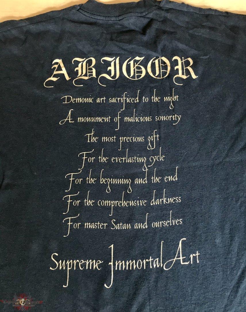 Abigor - Supreme Immortal Art TS
