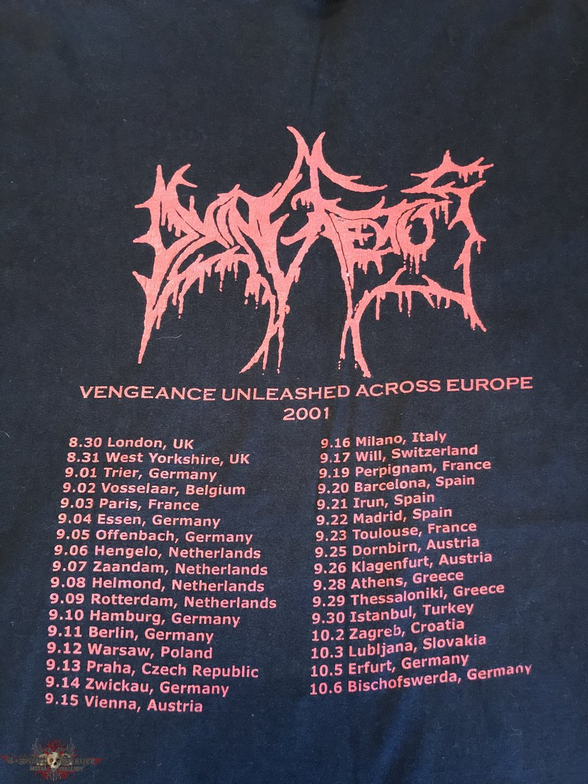 Dying Fetus - Vengeance Unleashed Across Europe 2001 TS