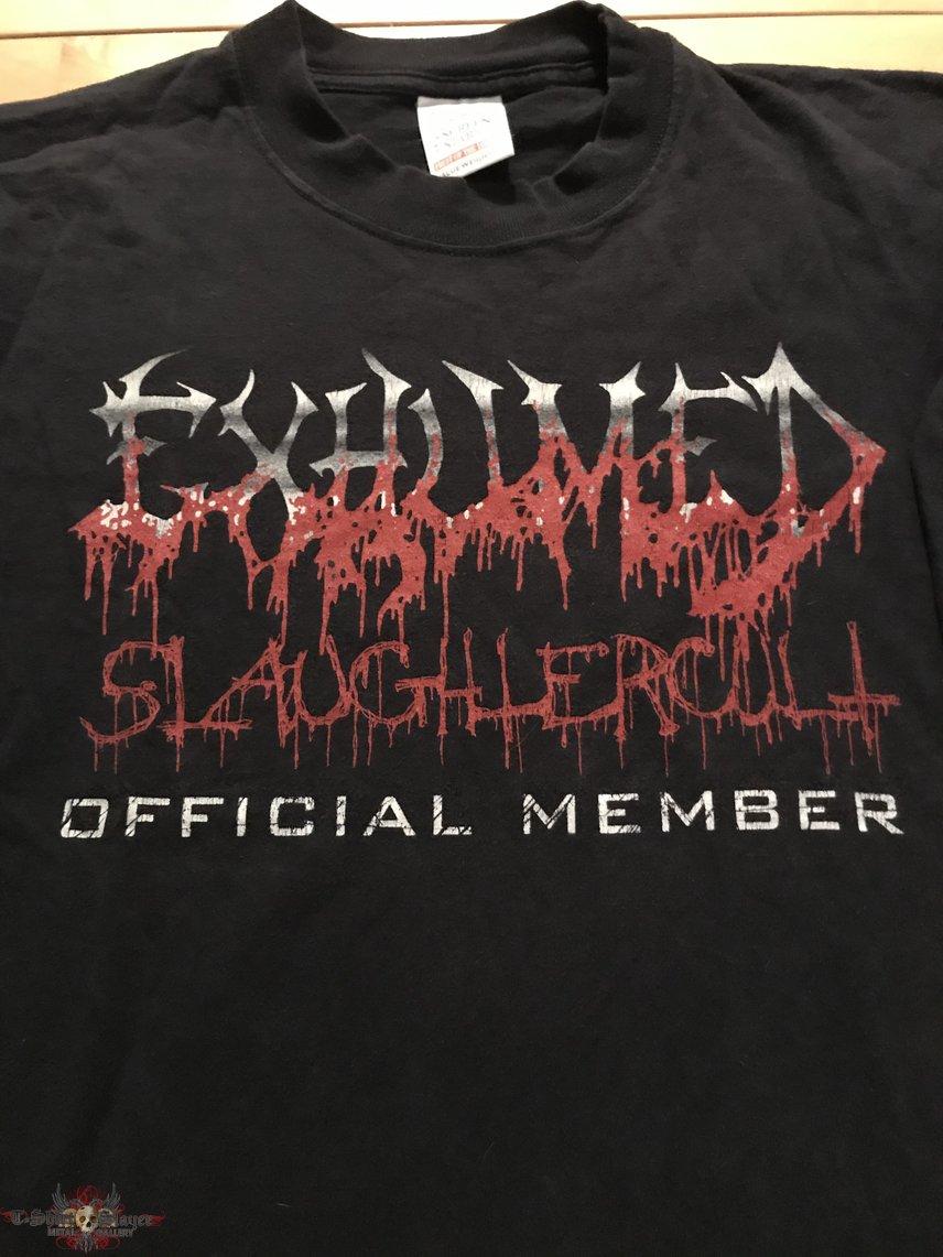 Exhumed - Slaughtercult Official Member LS