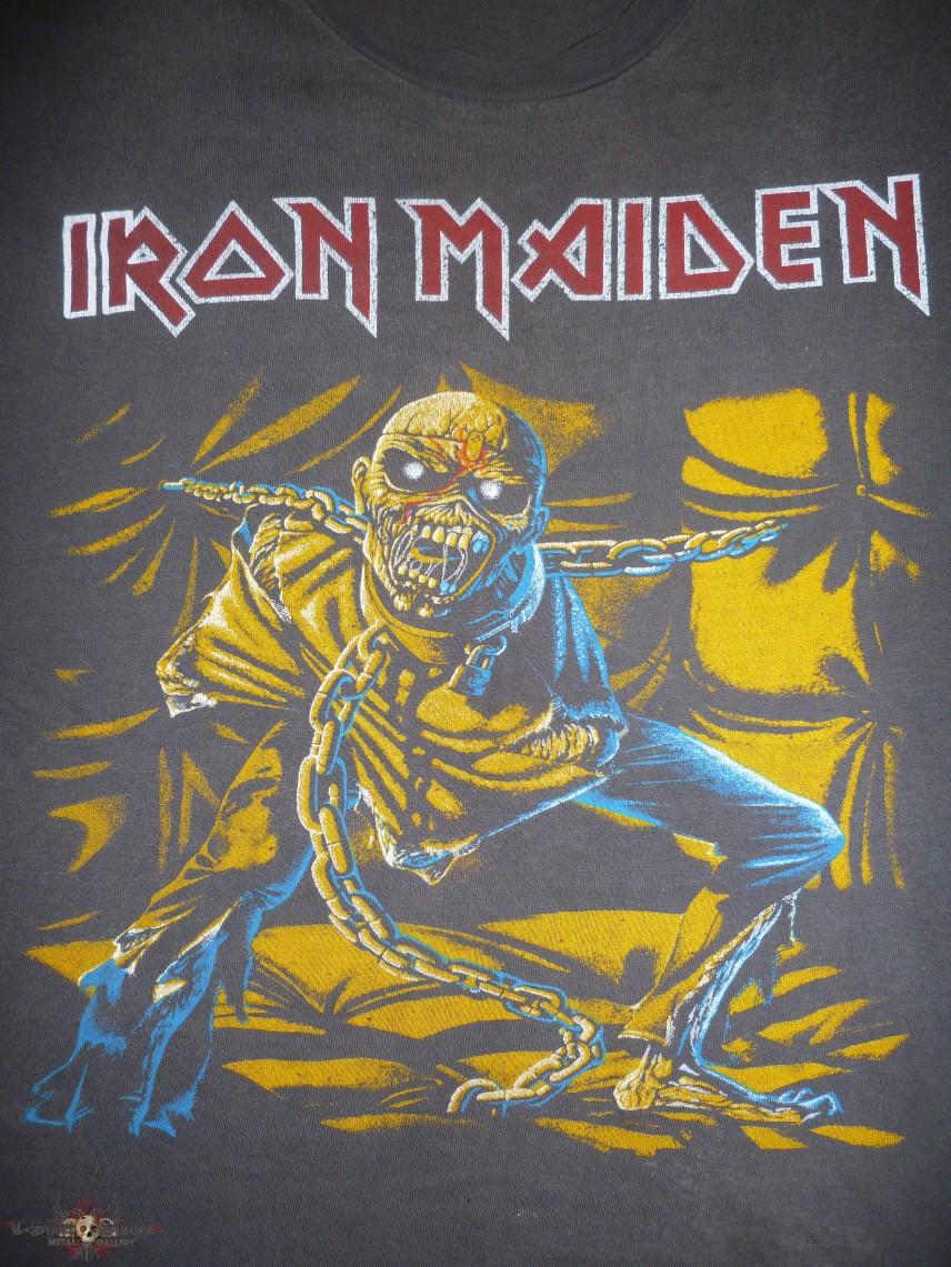Vintage 1980s Iron Maiden Piece Of Mind Unofficial
