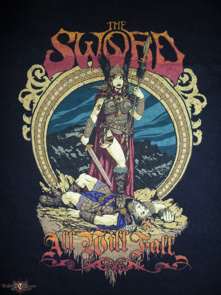 The Sword 2008/2009 All Will Fall Tour T-Shirt