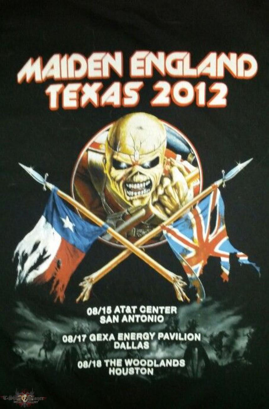 Iron Maiden - Maiden England Tour - Texas