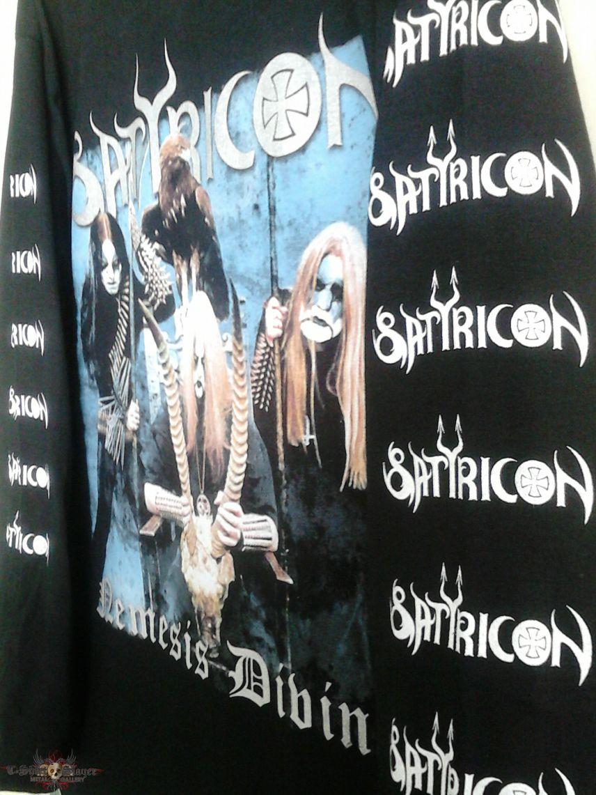 "Satyricon ""Nemesis Divina"" Longsleeve."