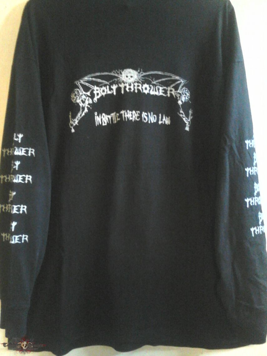 """Bolt Thrower """"In Battle There is No Law"""" Longsleeve."""