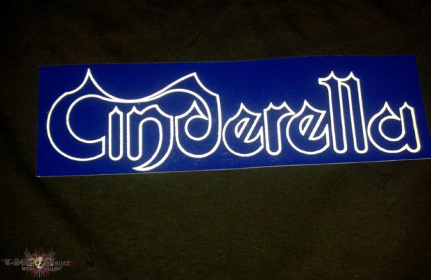 Cinderella - Logo Bumper Sticker