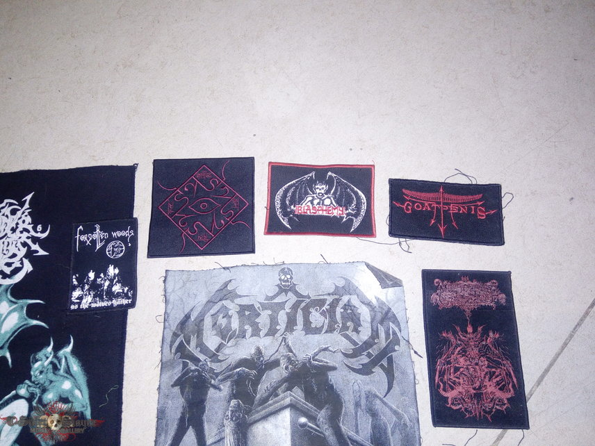 USED Patches, with dirt blood staines, alcohol piss and what not