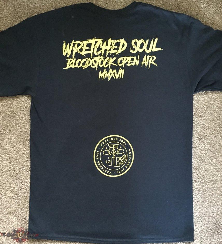 Wretched Soul BOA 17 event t-shirt