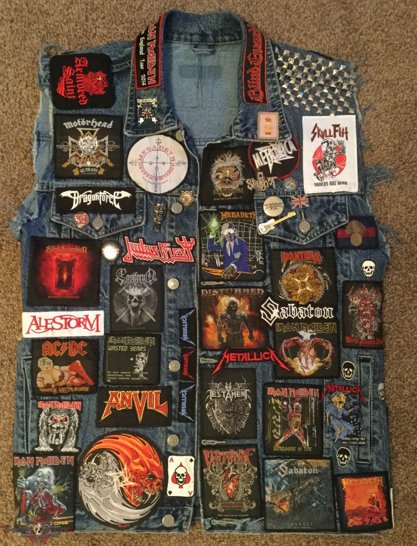 The Clairvoyant's blue Battle Jacket NEW FOR 2017
