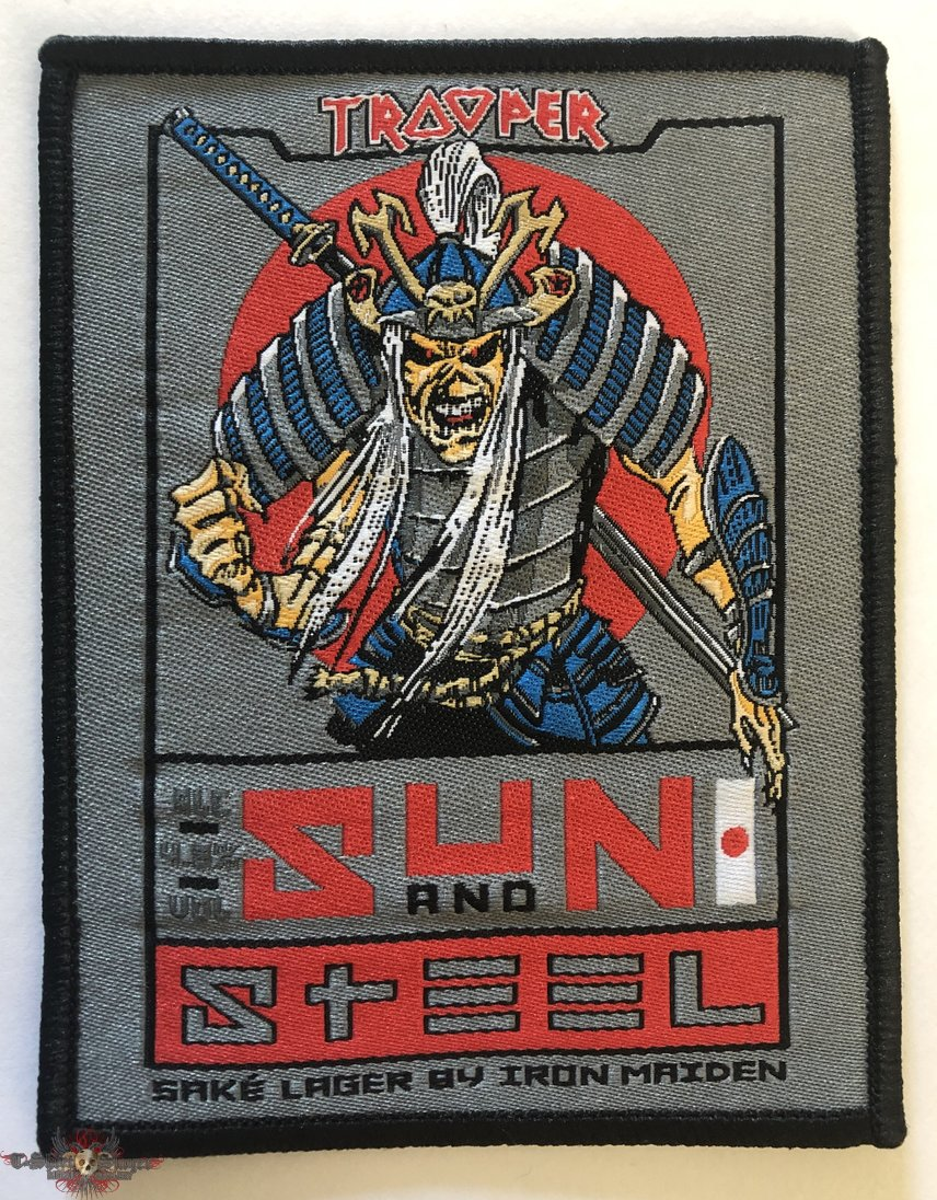 Iron Maiden 'Sun and Steel' patch