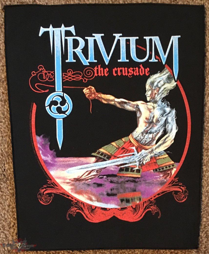 Trivium 'The Crusade' back patch
