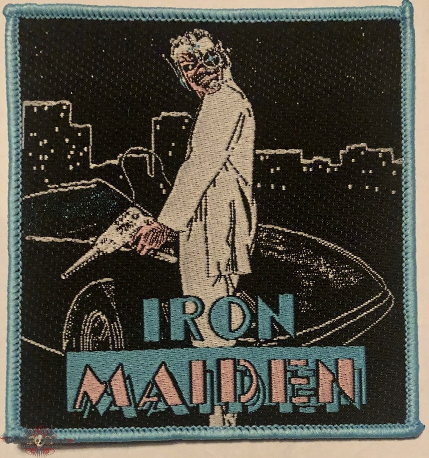 Iron Maiden patch