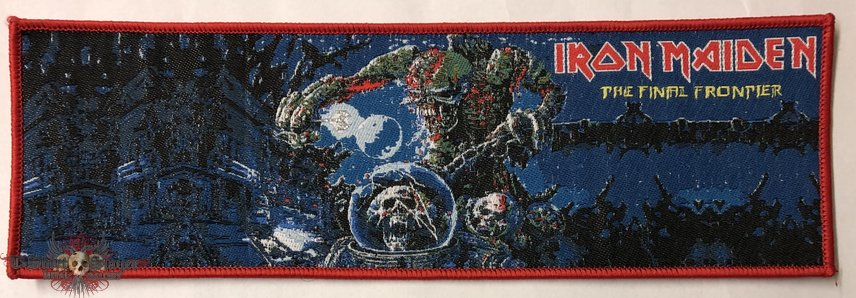 Iron Maiden 'The Final Frontier' strip patch