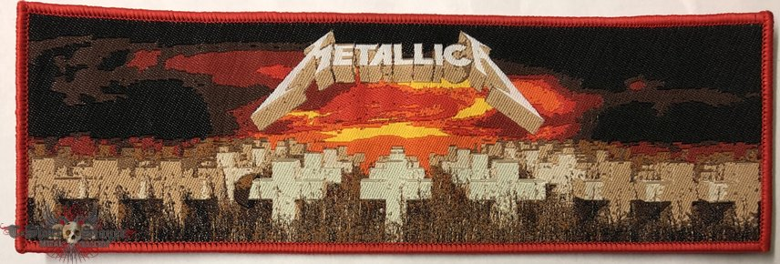 Metallica 'Master of Puppets' strip patch