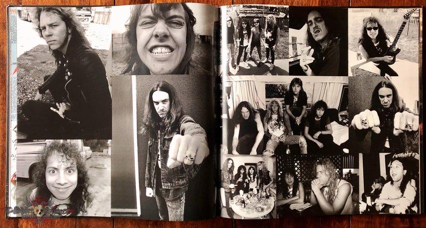 Metallica 'Master of Puppets' art book