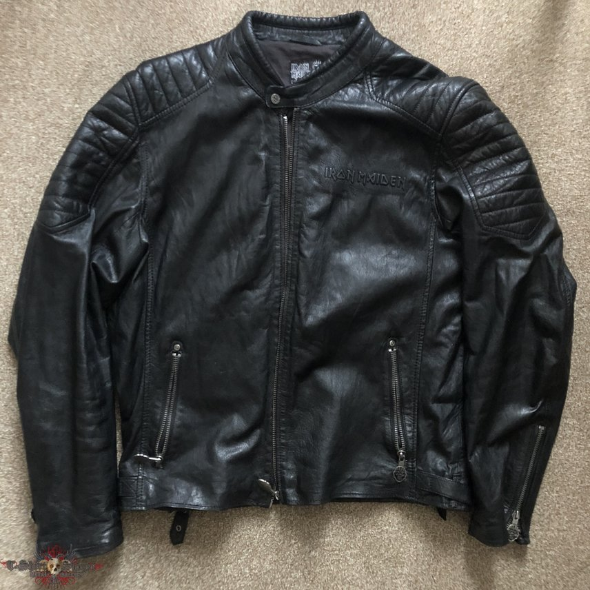 Iron Maiden 'Book of Souls' leather jacket