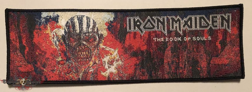 Iron Maiden 'The Book of Souls' strip patch