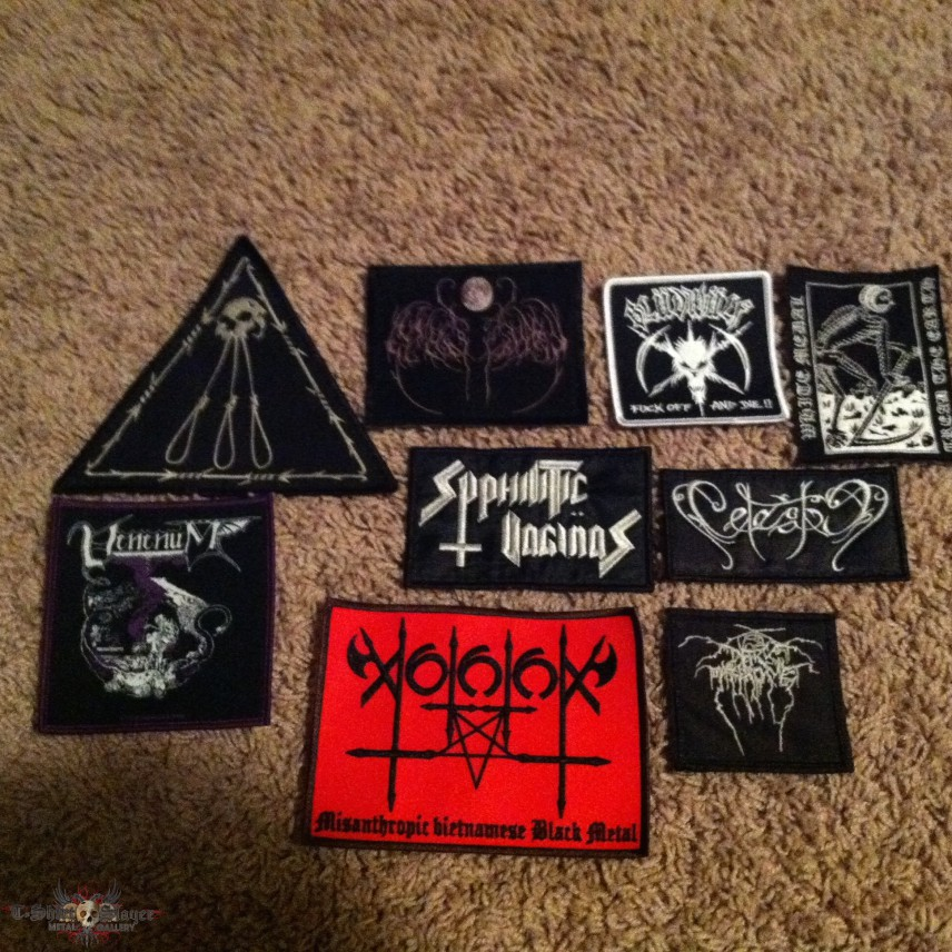 Embroidered / Woven patches