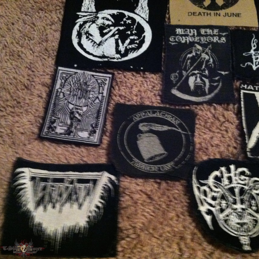 Screen printed patches for trade