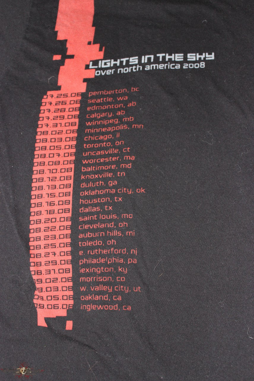 Nine Inch Nails - Lights in the Sky - Tour Shirt | TShirtSlayer ...