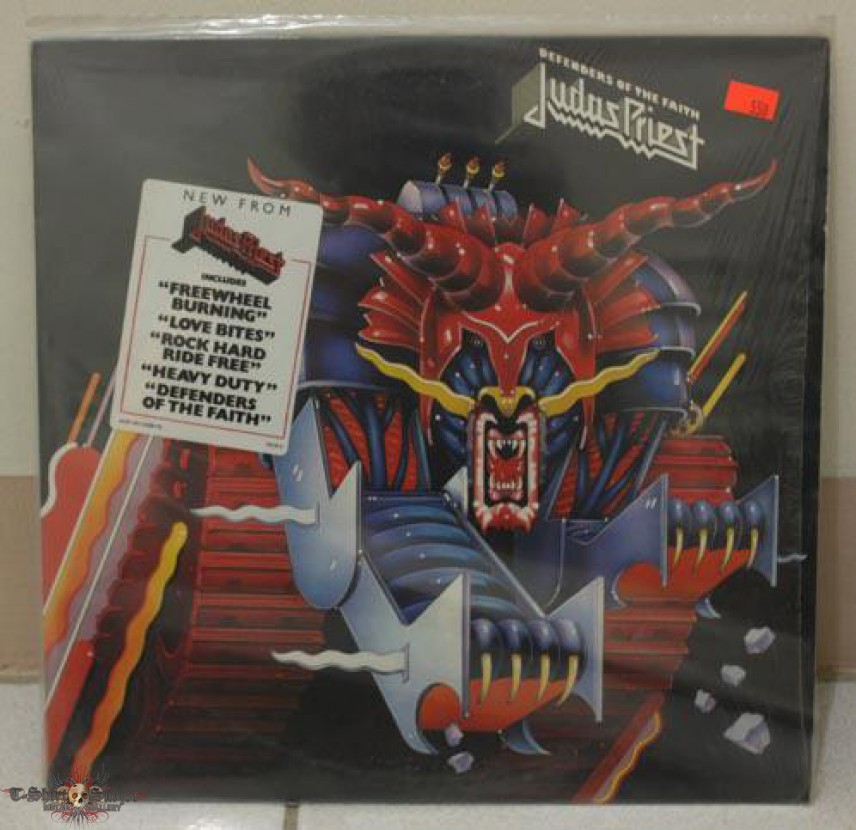 Judas Priest LPs