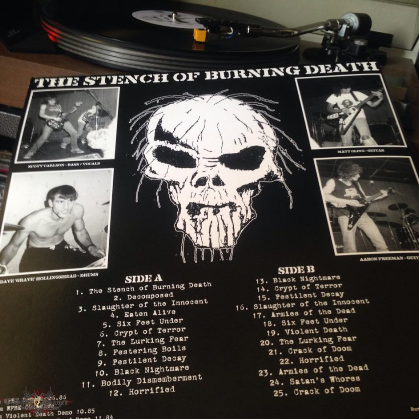 GENOCIDE - The Stench of Burning Death - LP