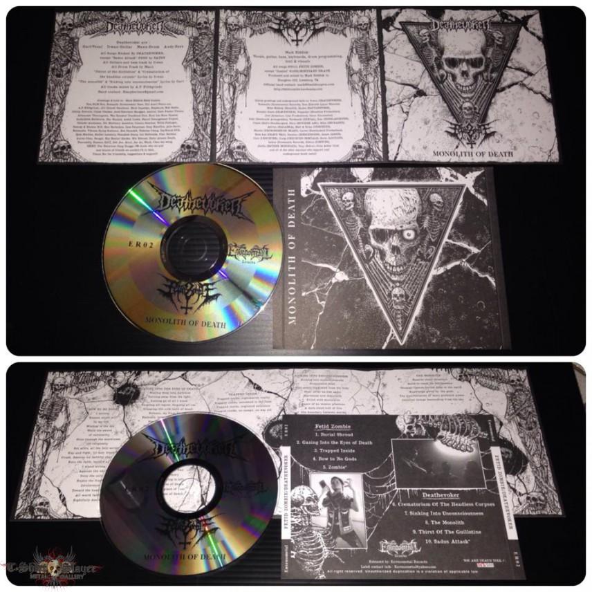 Deathevoker - Fetid Zombie - Split CD