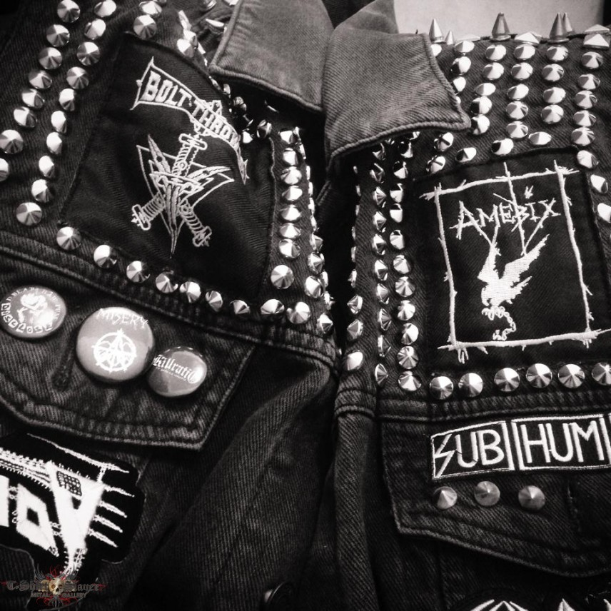 Metal Punk Patches