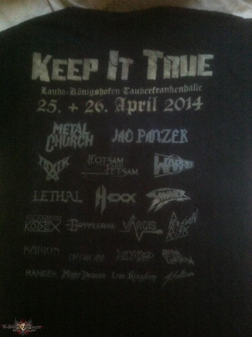 Keep It True Fest shirt