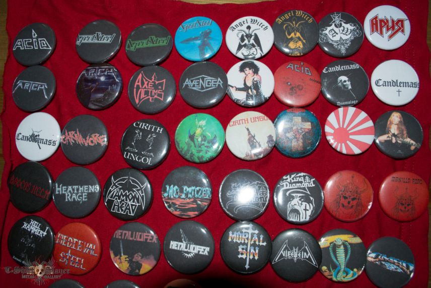 Some of my badges