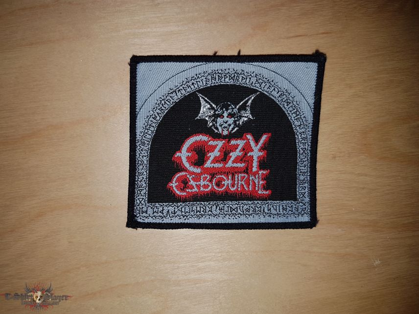 Ozzy - square Patch