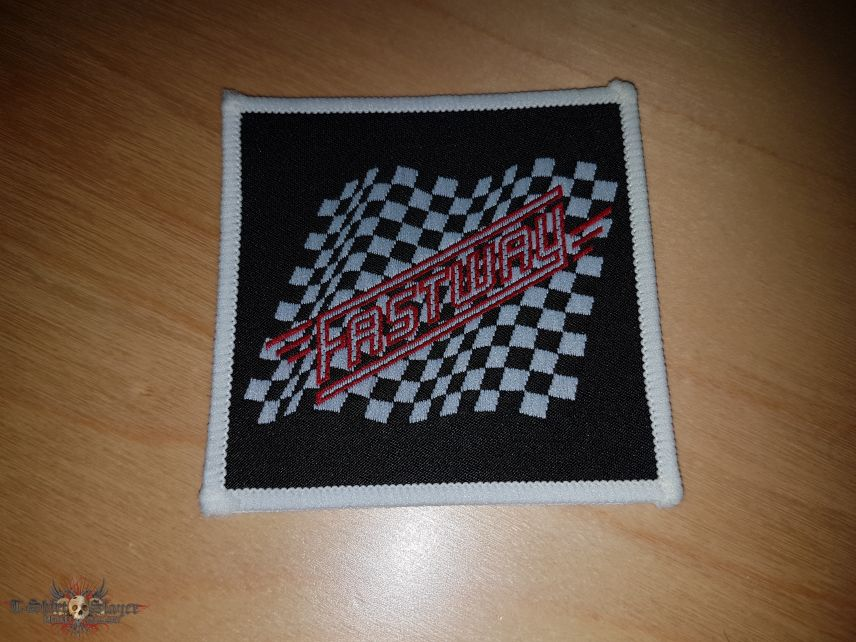 Fastway woven Patch