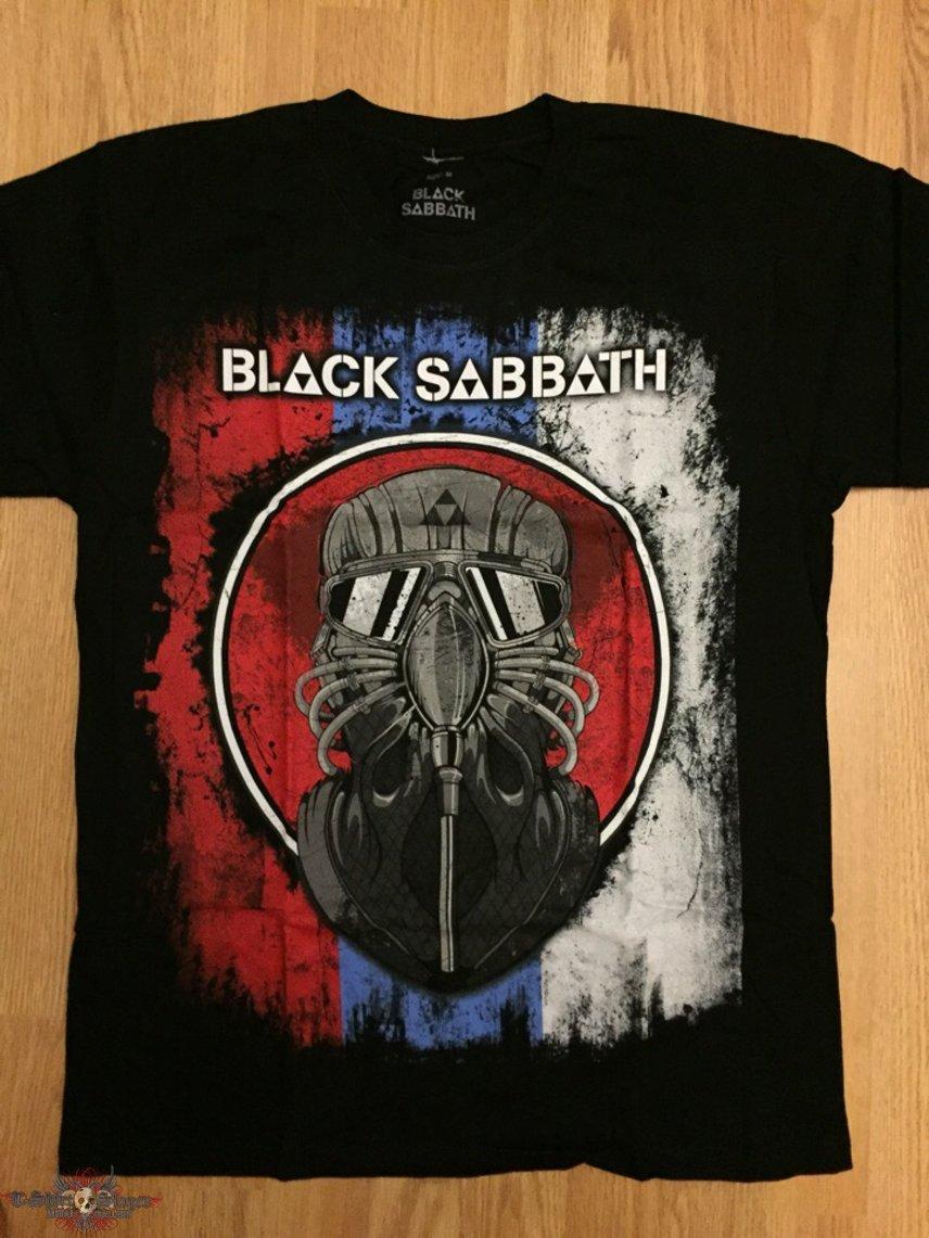 Black Sabbath russian events t-shirt of 2014