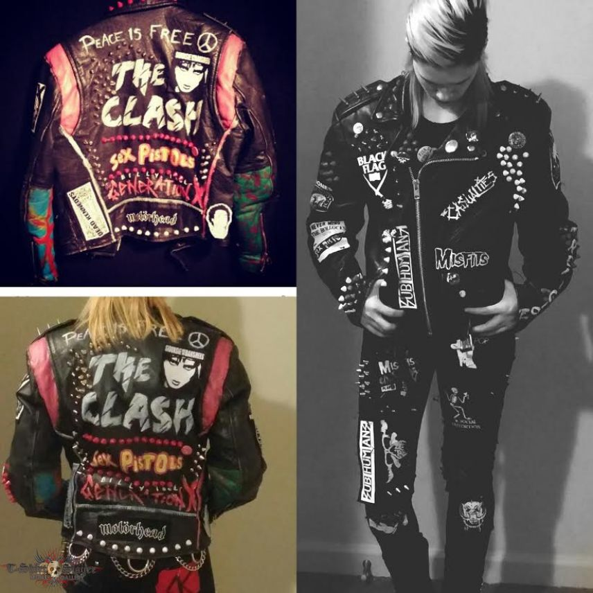 Punk Battle Jacket I Have Finished