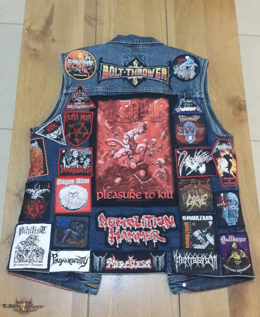 My Death Thrash Vest