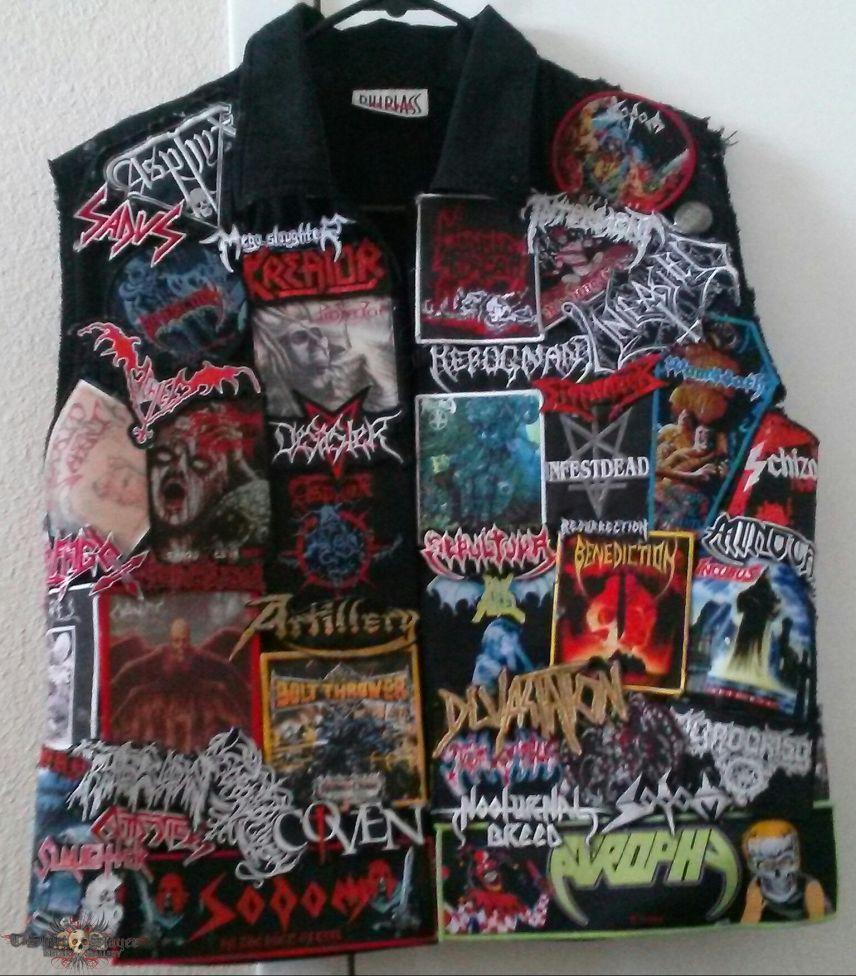 Completed Death Thrash Vest