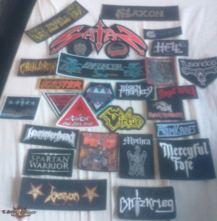 Loads of NWOBHM patches!