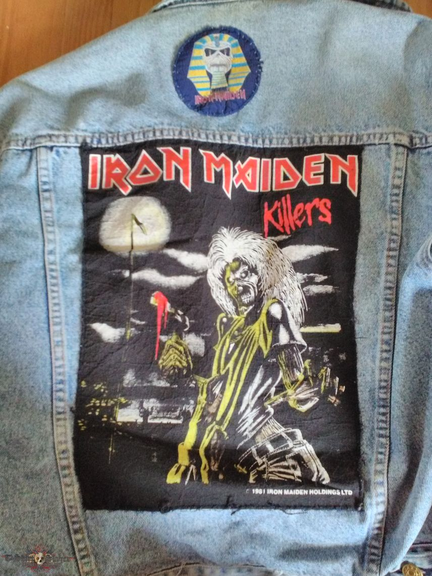 Iron Maiden Killers Back Patch From 1981 Tshirtslayer