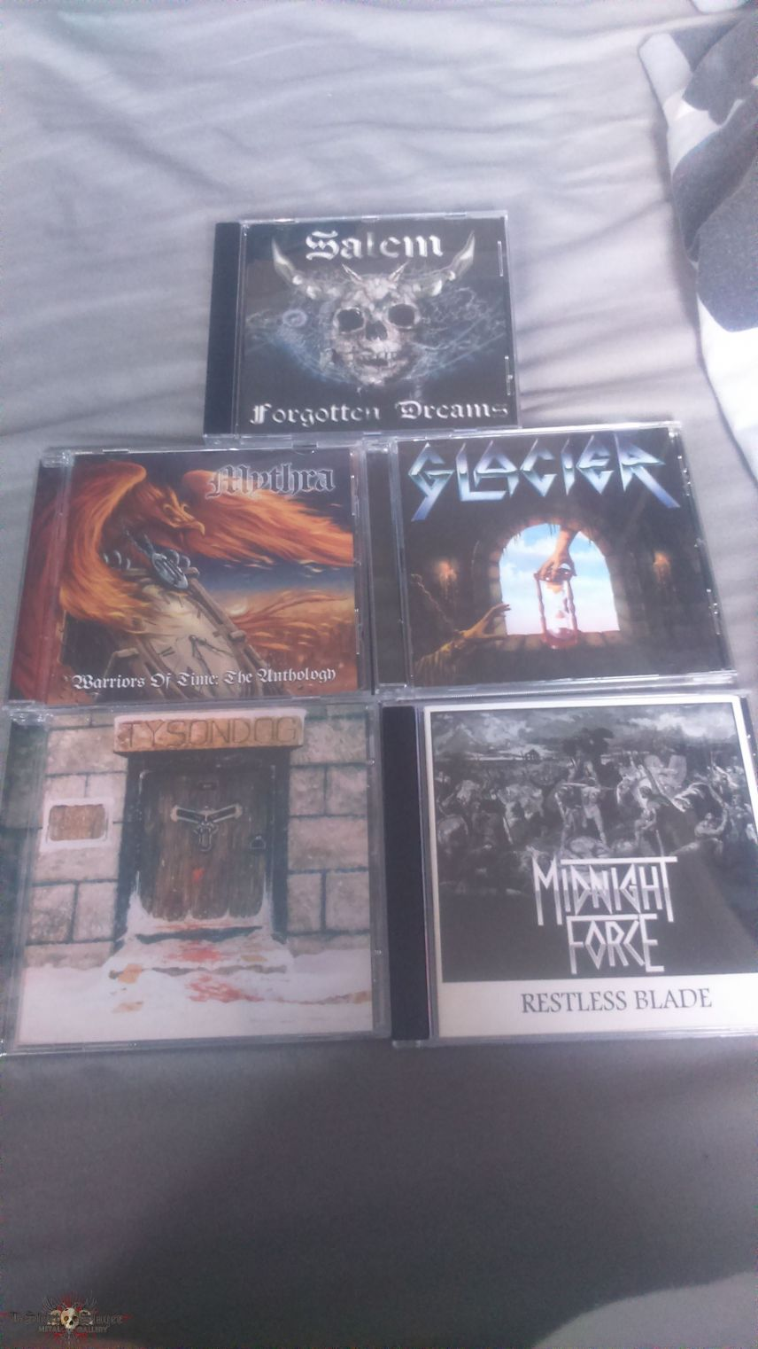 All the CDs I bought from Brofest last weekend!
