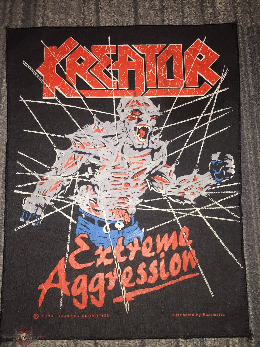Kreator - Extreme Aggression Backpatch