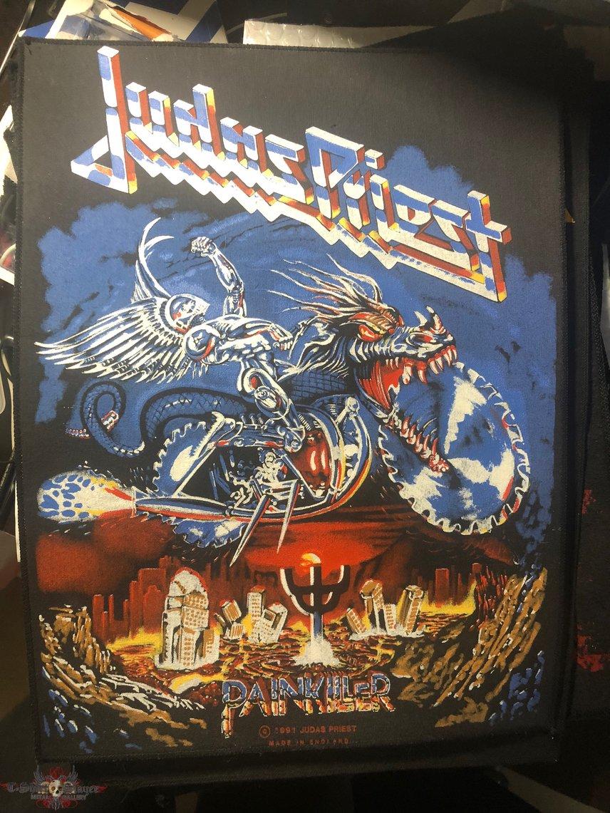 Judas Priest - Painkiller © 1990 Backpatch