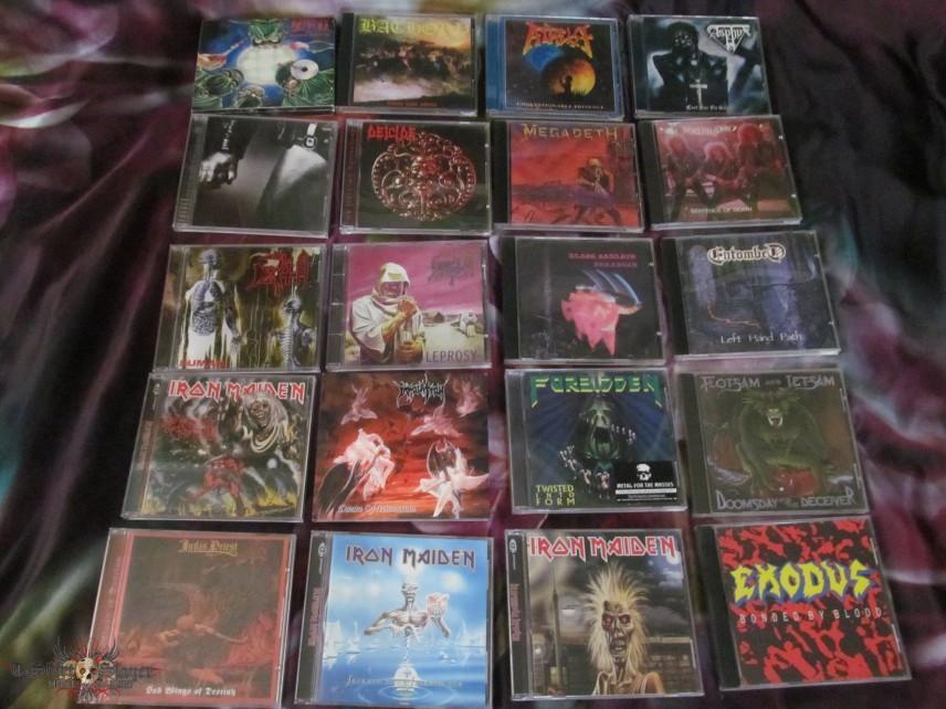 some cds