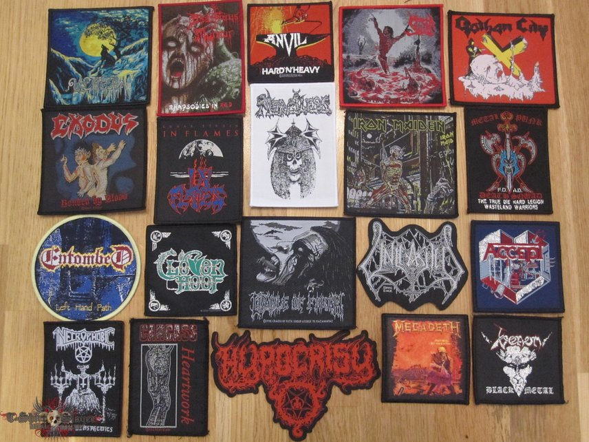 Woven Patches I Can Offer