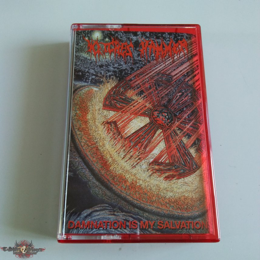 Witches Hammer - Damnation Is My Salvation tape