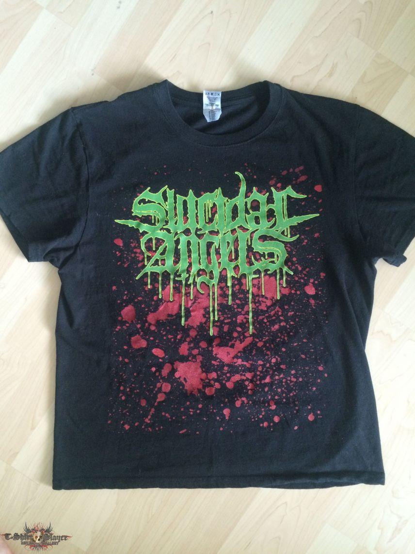Rare Suicidal Angels shirt