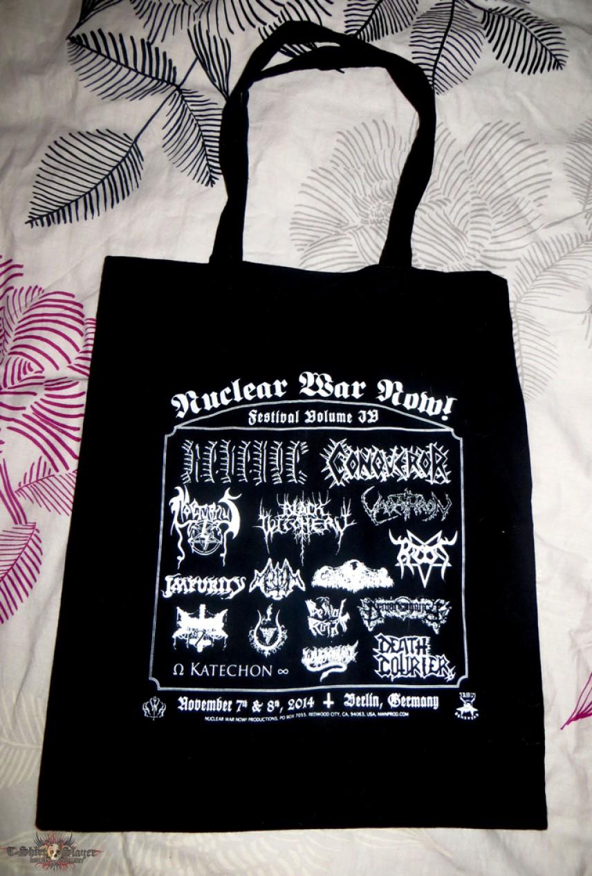 Nuclear War Now Fest IV Canvas Bag