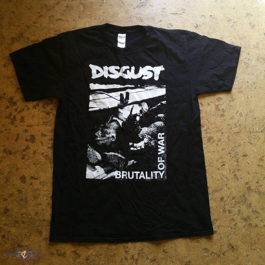 """Disgust - """"Brutality Of War"""" Shirt"""