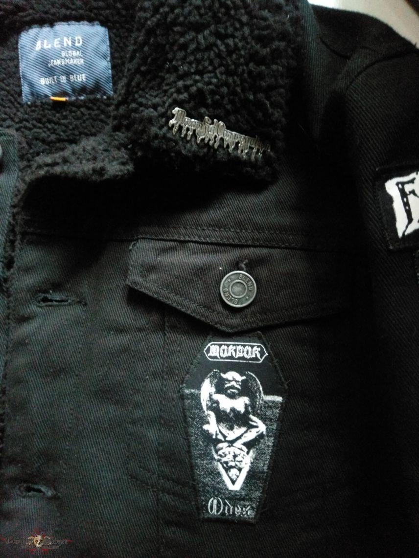 Old school funeral doom winter jacket