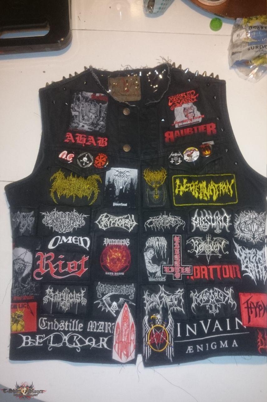 Redid my first battlejacket