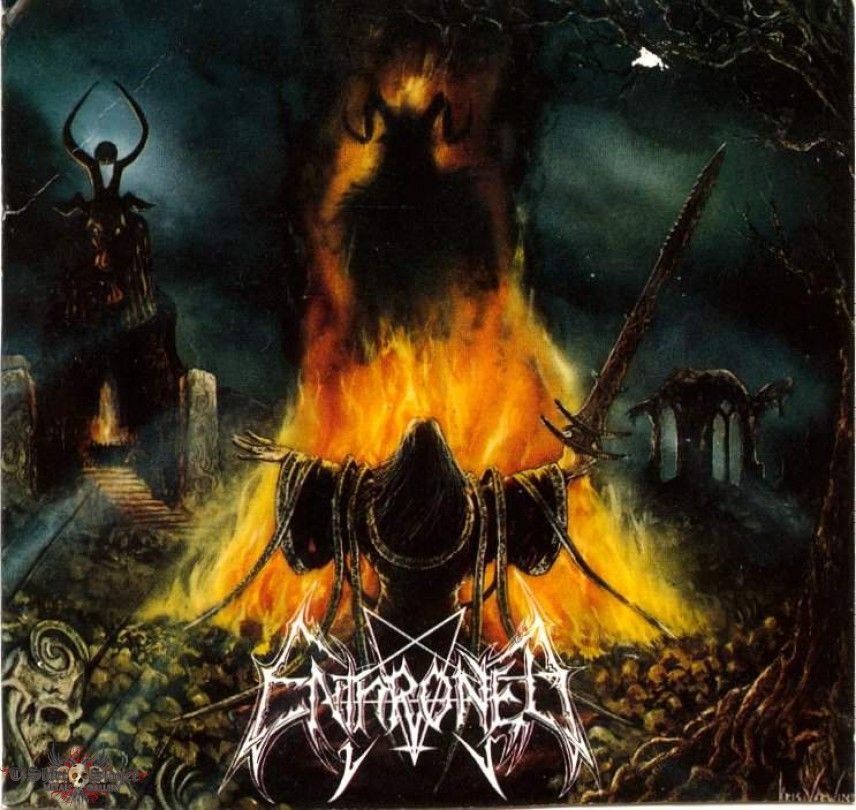 Enthroned - Prophecies of pagan fire (cd)